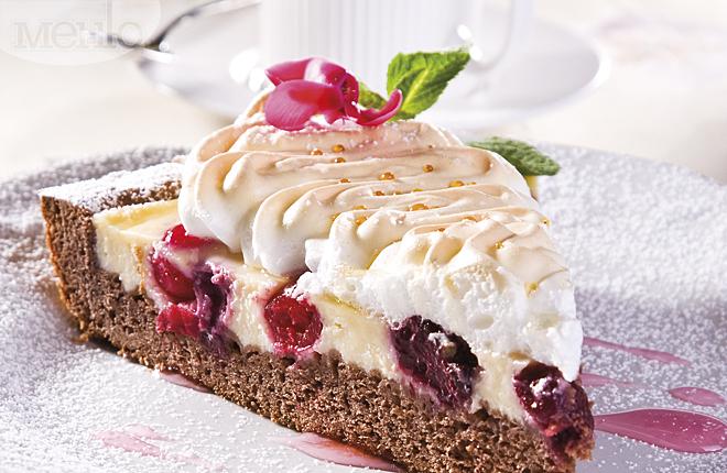 Словацкий сладкий пирог с творогом
