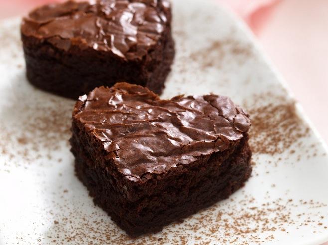 Brownie-Hearts