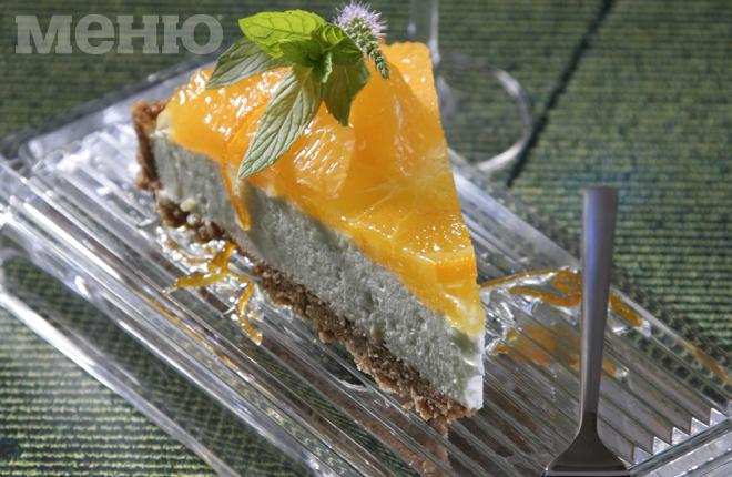 Апельсиновый пирог с кокосом