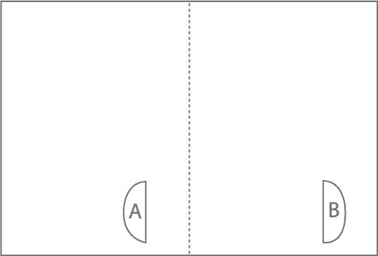 хартиена схема за къща за птички
