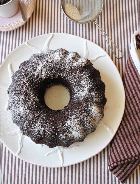 Тъмен шоколадов кекс