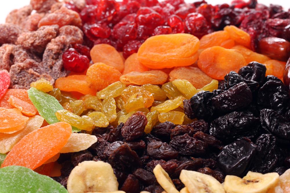 Сухофрукты - вкусно и полезно