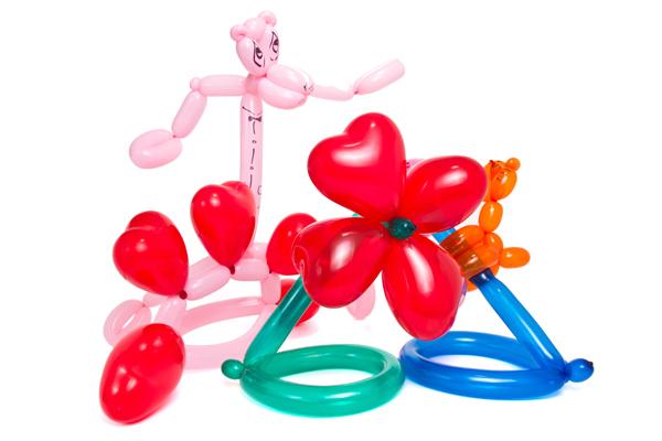 надуавеми балони, Преобразяване на балони