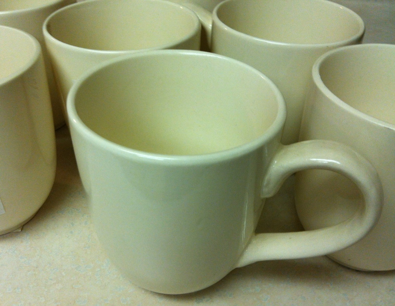 mugs white