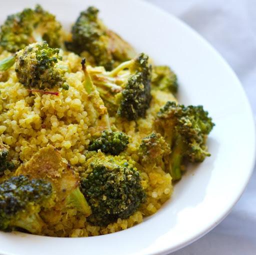 quinoa-broccoli