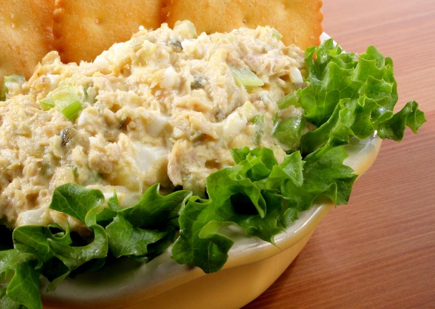 Салат из зеленой фасоли и тунца