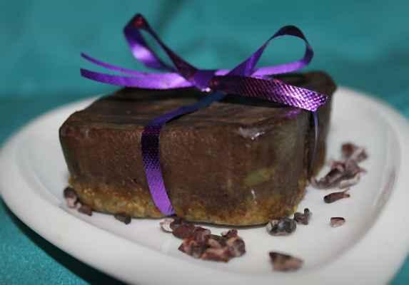 Черный бархатный торт