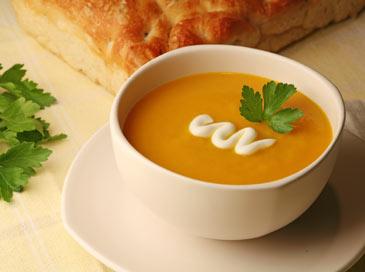 Крем супа от тиква (8 – 10 месеца)