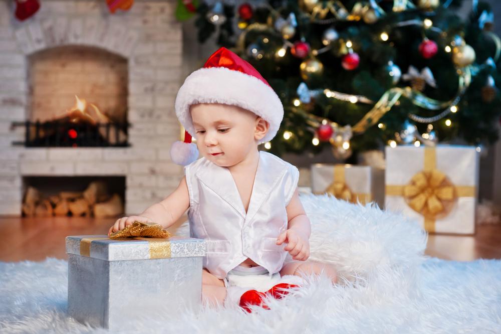 Първата коледа на бебето – незабравима!
