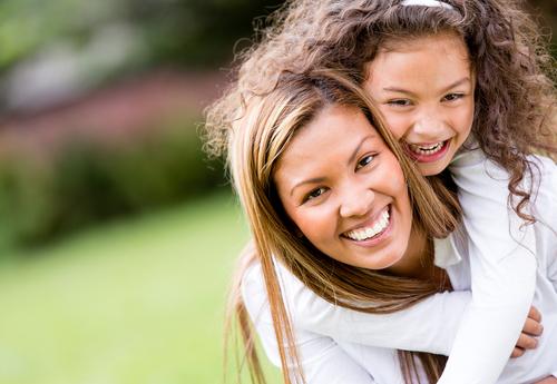 Усмивката на мама