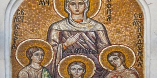 Църквата почита паметта на Светите мъченици София, Вяра, Надежда и Любов