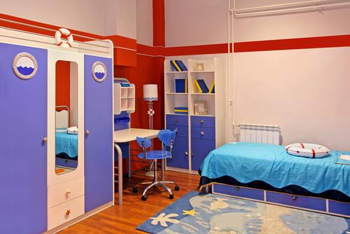 Как цветът на детската стая влияе на детето?