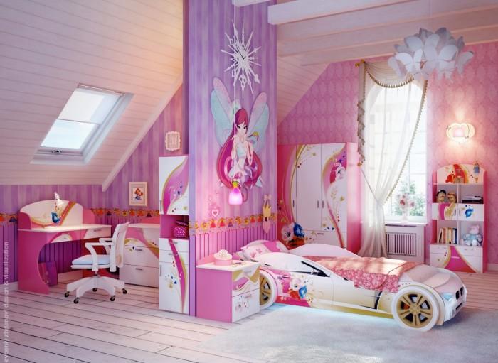20 очарователни идеи за обзавеждане на момичешка стая