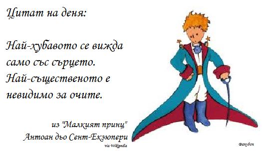 """15 незабравими цитата от """"Малкият принц"""""""