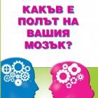 """""""Какъв е полът на вашия мозък?"""" от Борис Лемберг"""