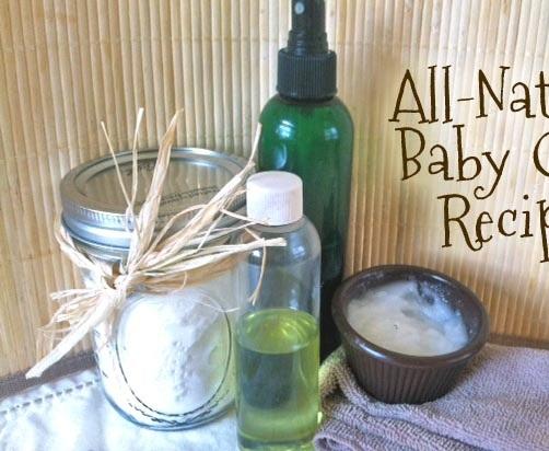 Три домашни рецепти за естествена бебешка козметика