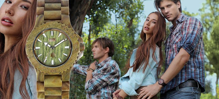 WeWood – часовниците, които се грижат за природата