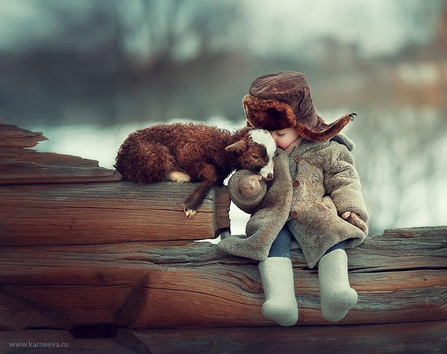 Децата не се страхуват, затова обичат истински