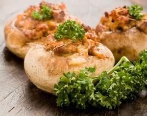 7 вкусных рецептов фаршированных грибов