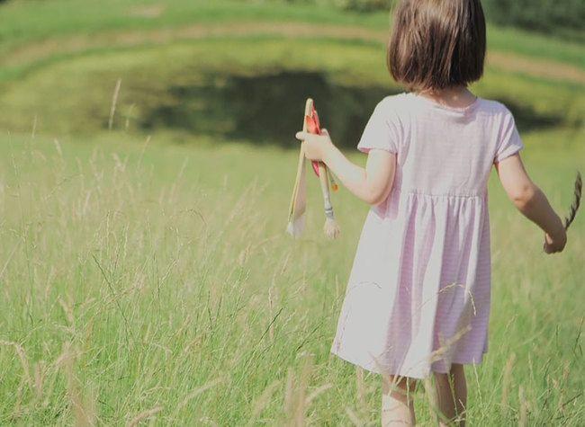 5-годишно момиченце с аутизъм създава истински шедьоври