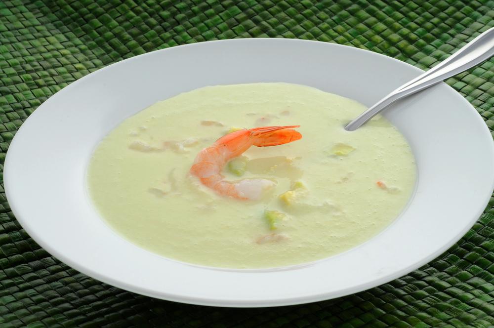 Студена супа от авокадо и краставици