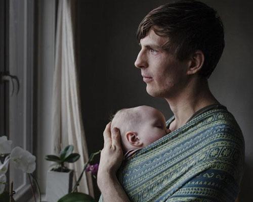 Бащинството в снимки