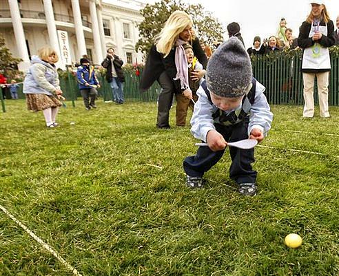 Надпревара с великденско яйце