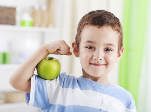 Имунитетът на децата зависи от режима и храненето