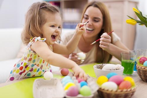 9 естествени идеи за боядисване на великденски яйца