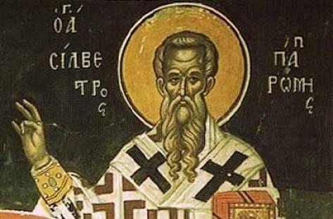 На 2 януари православната църквата почита Свети Силвестър Римски