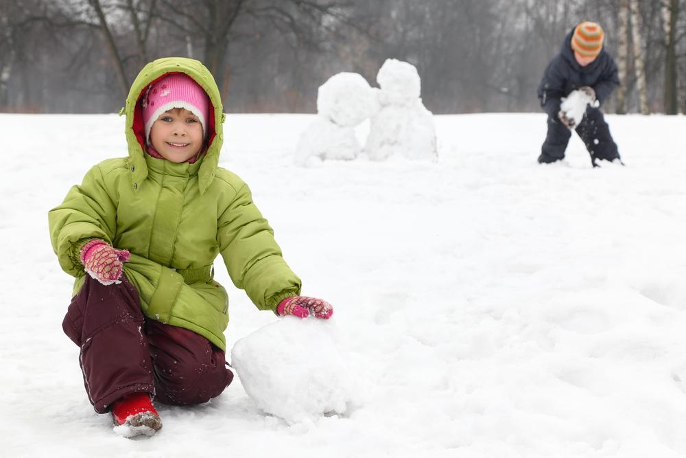 Да поиграем навън, въпреки зимата