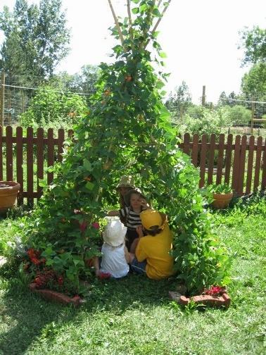 Малко зелено парти в Зелената градинка