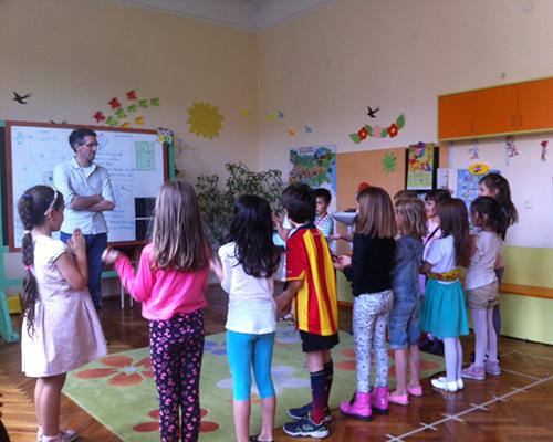 """International House Sofiа  отбеляза края на учебната година с тържество в 7-мо училище """"Св. Седмочисленици"""""""
