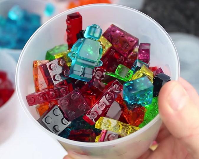 Как да си направим LEGO желирани бонбони