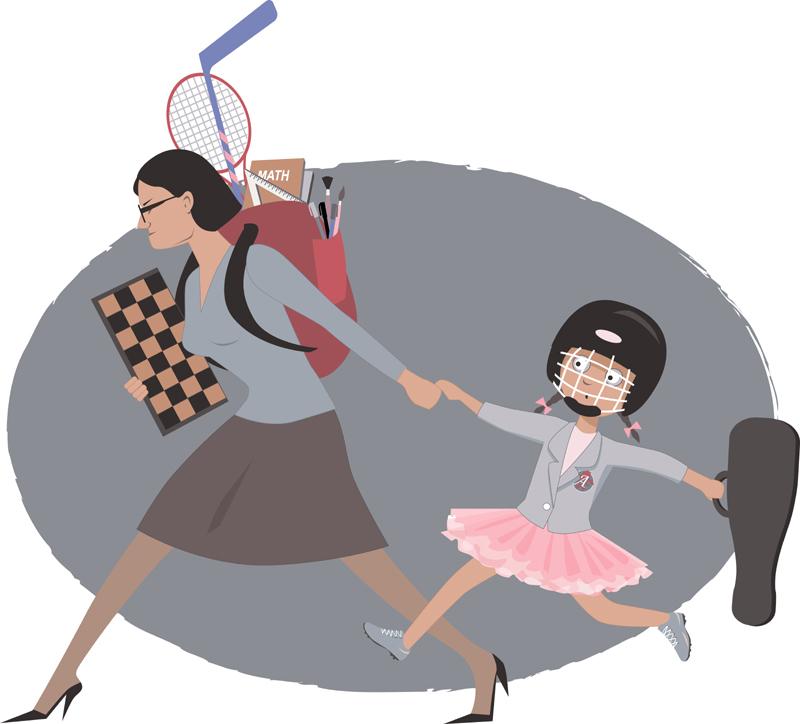 Твърде грижовните родители вредят на децата си