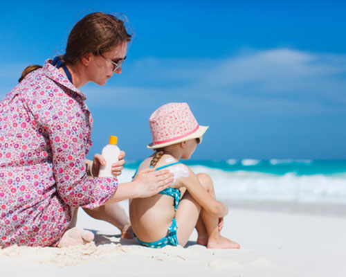 Да предпазим нежната детска кожа от слънцето