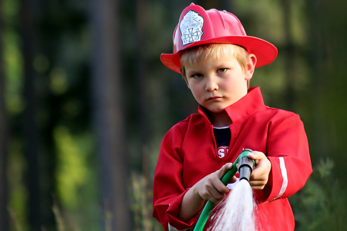 children fire safety