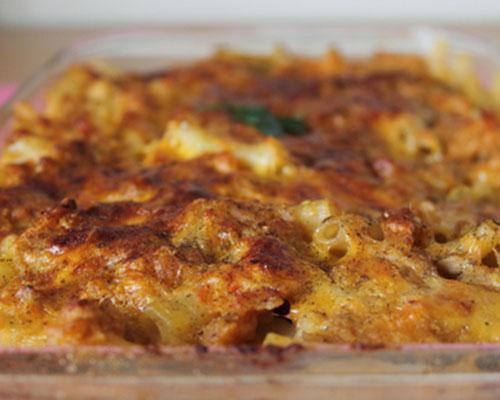 Картофена запеканка с риба тон