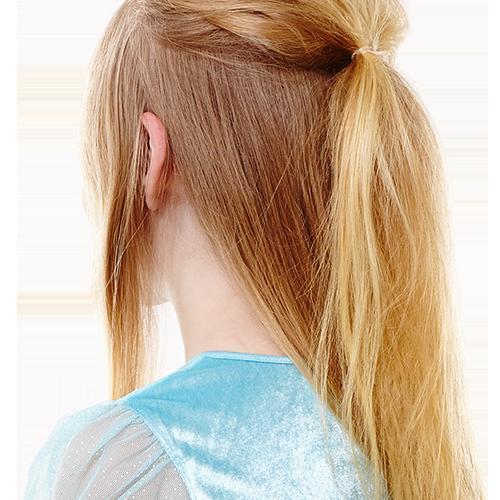 Французская коса для маленьких леди