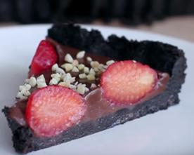 Уникално вкусна шоколадова тарта (без печене)