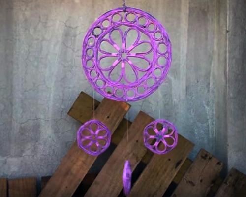 Как да си направим Ловец на сънища от рециклирана хартия? (видео)