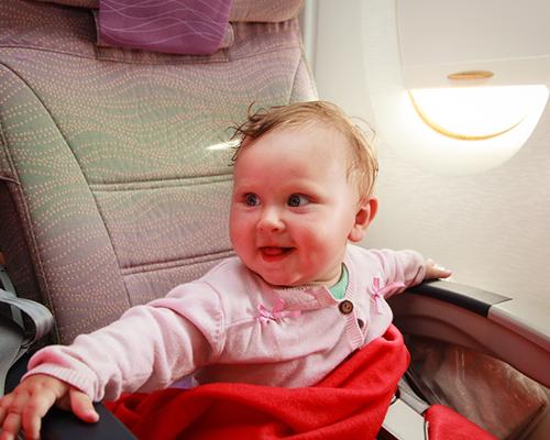 Има ли бебе в самолета?