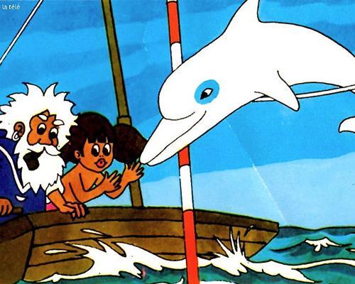 Ум Белият делфин