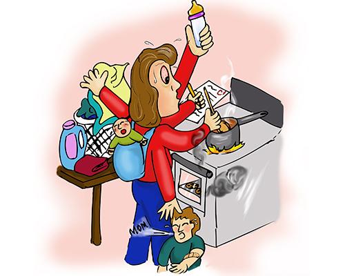 Мислите, че майчинството не е истинска професия? Прочетете това!