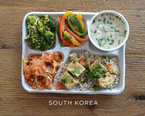 Какво похапват за обяд учениците по света
