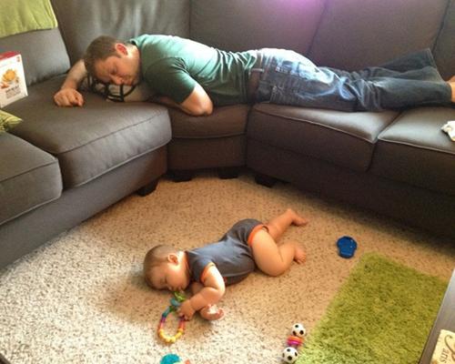 Забавни снимки, които доказват, че децата могат да заспят навсякъде (2-ра част)