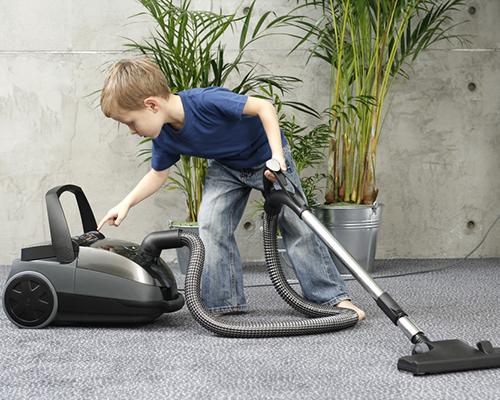 Мамина отмяна или как чистят децата?