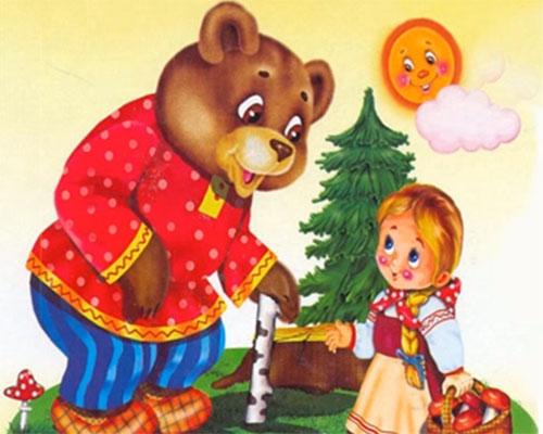 Маша и Мечока ( аудио версия на класическата руска приказка)