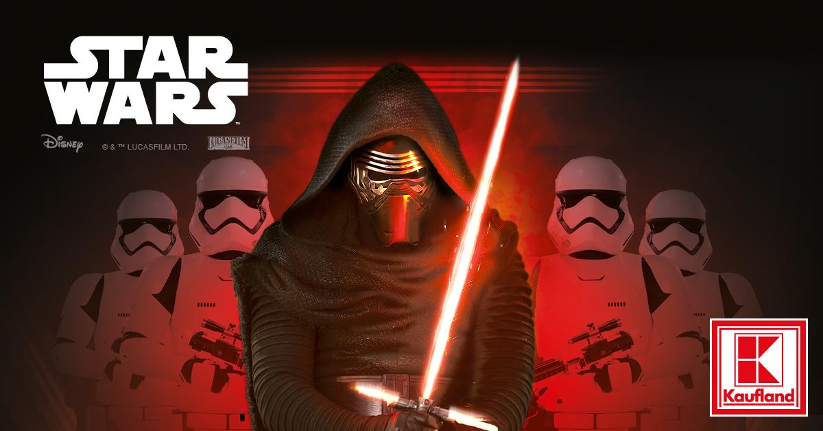 Галактически предложения от Star Wars в Kaufland