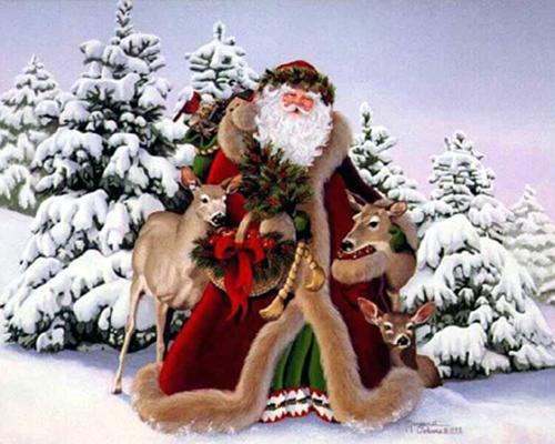 Дядо Мраз и внуците му